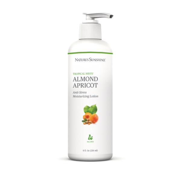 Almond-Apricot Anti Stress Moisturizing Lotion